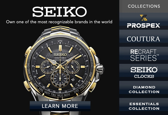 Seiko - Own one of the most recognizable brands in the world
