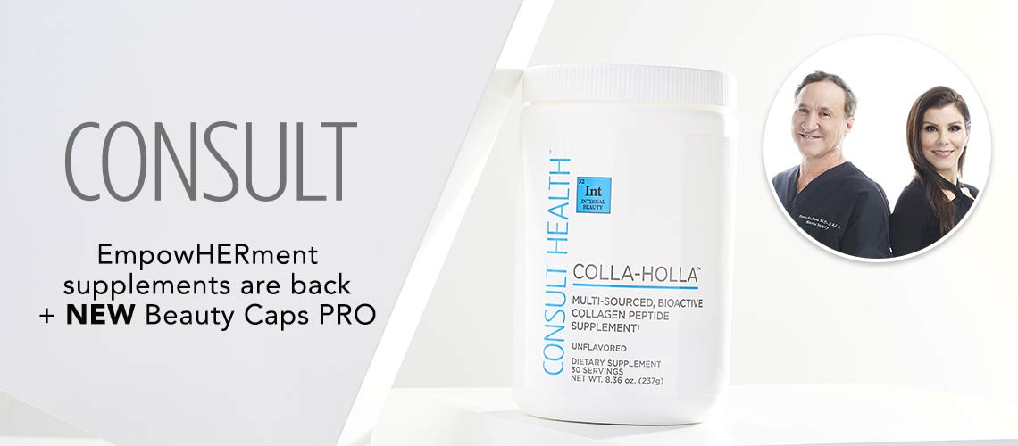CONSULT  EmpowHERment supplements are back + NEW  Beauty Caps PRO