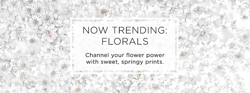NOW TRENDING: FLORALS at SHOPHQ Live