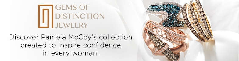 Pamela McCoy Gems of Distinction at EVINE Live - 145-567. 145-577, 145-569