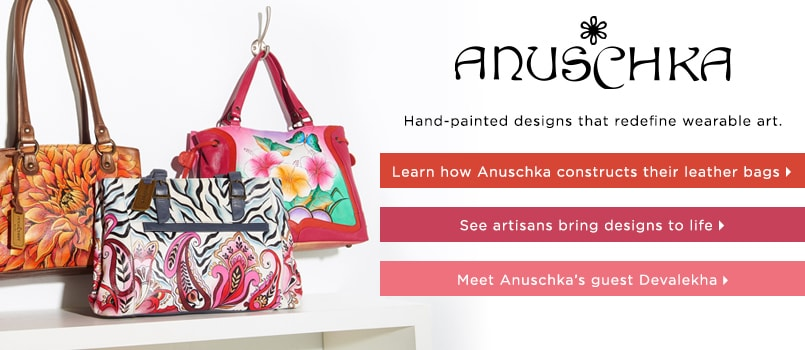 Anuschka Handbags at EVINE Live