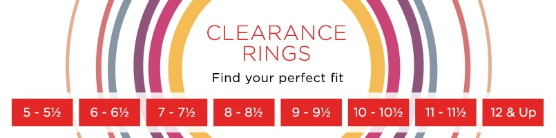 Clearance Rings at EVINE Live