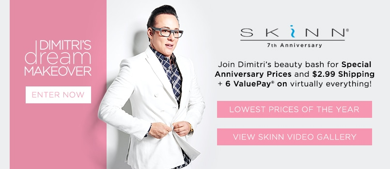 Skinn cosmetics by dimitri james makeup amp beauty products evine