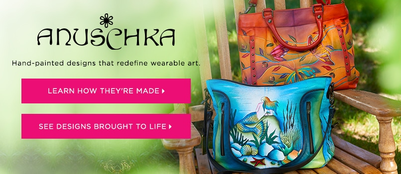 Anuschka Handbags at EVINE Live - 723-747, 723-726