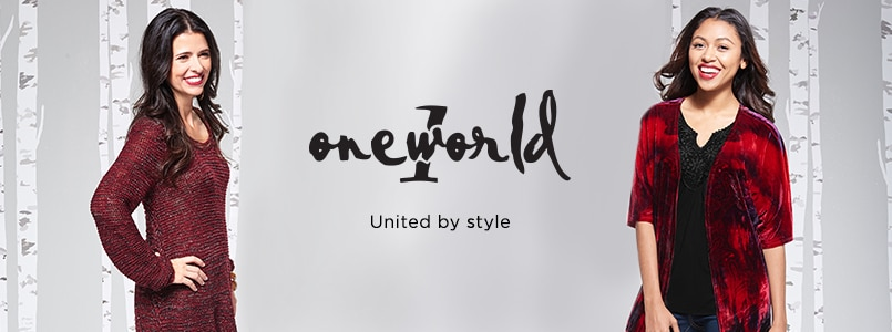 One World at EVINE Live - 725-504, 724-413