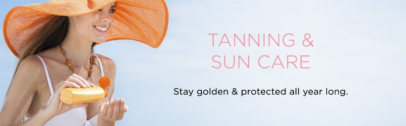 Tanning & Sun Care at EVINE Live