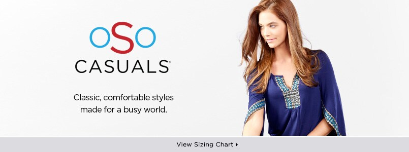 OSO Casuals® at EVINE Live