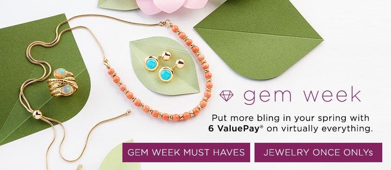 Gem Week at EVINE Live - 153-493, 153-842, 153-879
