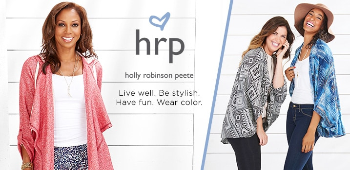 HRP by Holly Robinson Peete at Evine