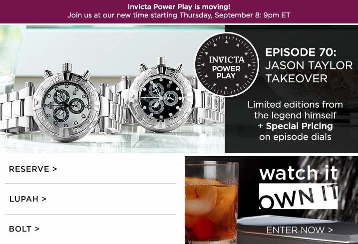 Invicta at Evine