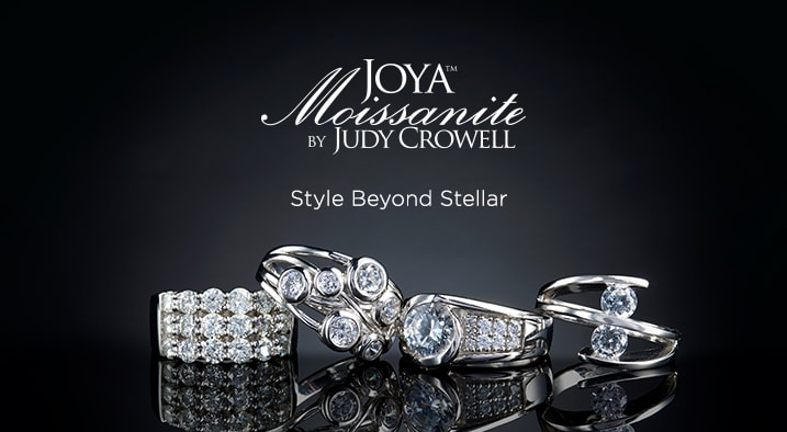 JOYA Moissanite by Judy Crowell™ at Evine