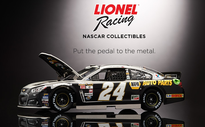 NASCAR by Lionel Racing at Evine