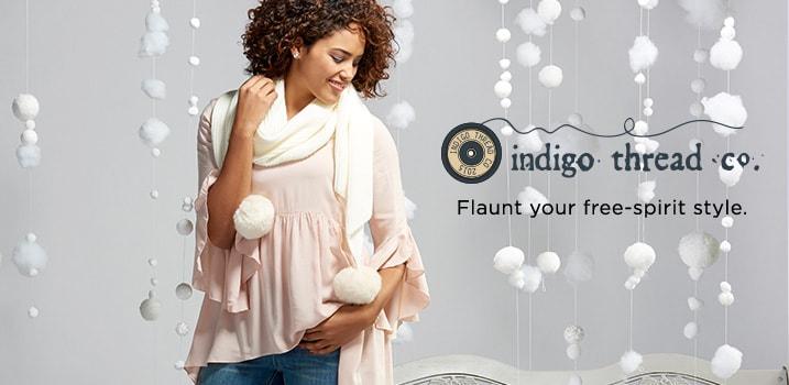 Indigo Thread Co.™ at Evine - 730-305, 730-374