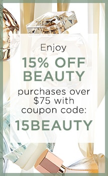 Enjoy 15% OFF BEAUTY purchases over $75 with coupon code: 15BEAUTY at Evine