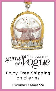 Enjoy Free Shipping on select charms at Evine