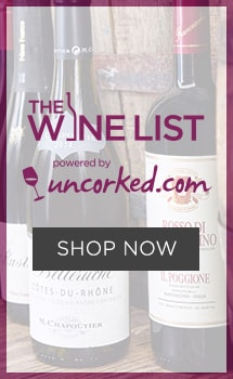 The Wine List powered by uncorked.com