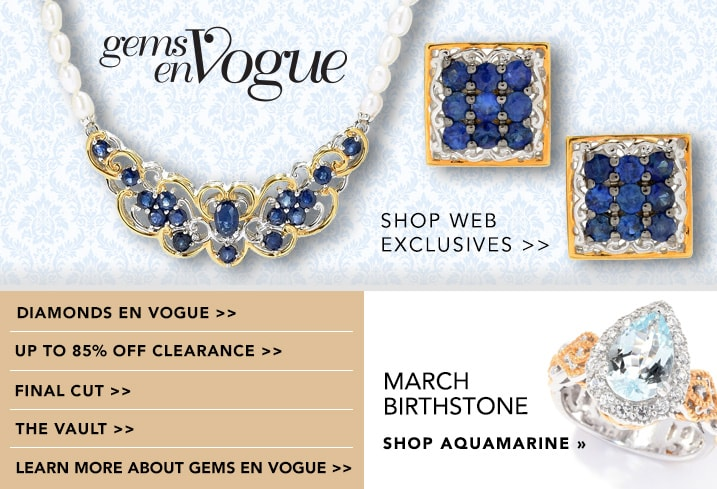 Gems En Vogue at Evine
