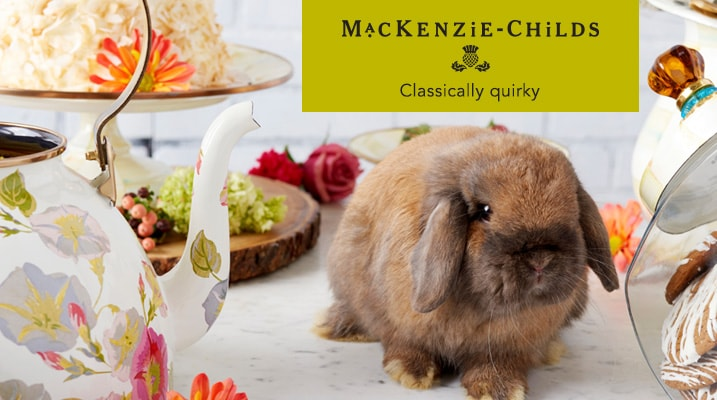 Mackenzie-Childs - Classically quirky