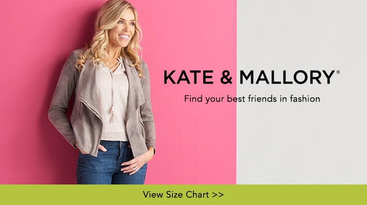 Kate & Mallory® at Evine - Kate & Mallory® Faux Suede Convertible Collar Asymmetrical Zip Moto Jacket - 733-369