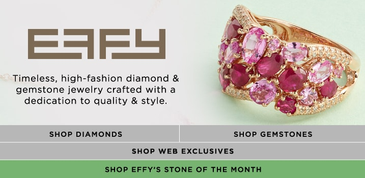 EFFY at EVINE Live - EFFY 'Amore' 14K Rose Gold 5.08ctw Ruby, Pink Sapphire & Diamond Ring - 168-506