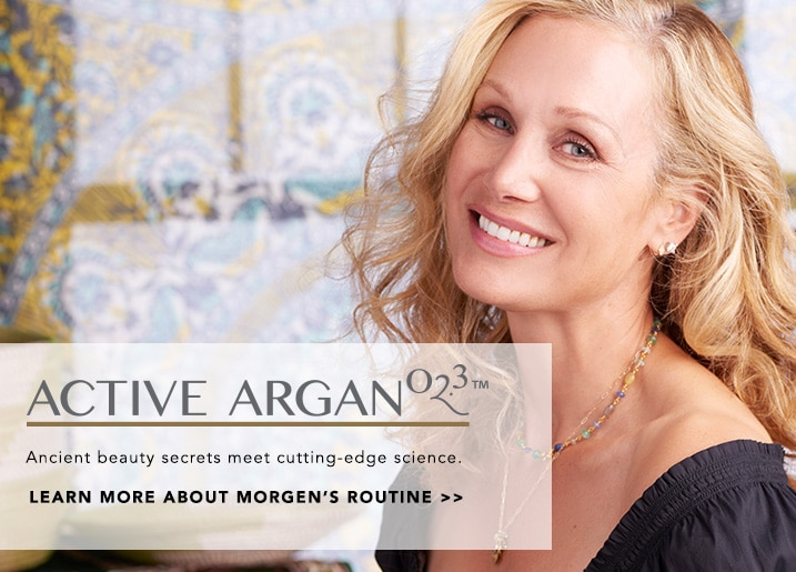 Active Argan - Ancient beauty secrets meet cutting-edge science at Evine