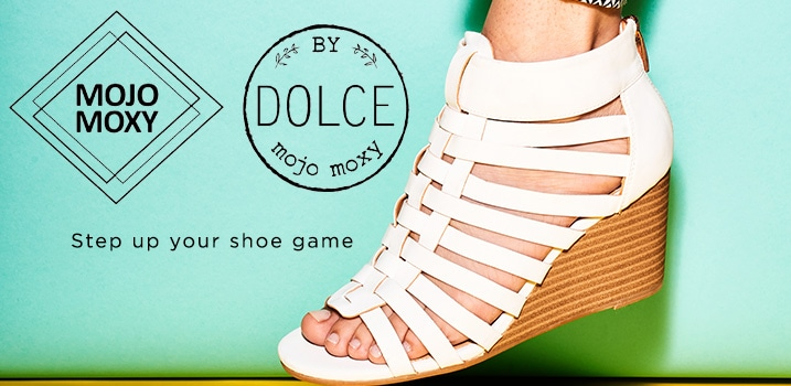 Mojo Moxy - Step up your shoe game at ShopHQ - Dolce by Mojo Moxy 'Avery' Gladiator Wedge Sandal - 738-161