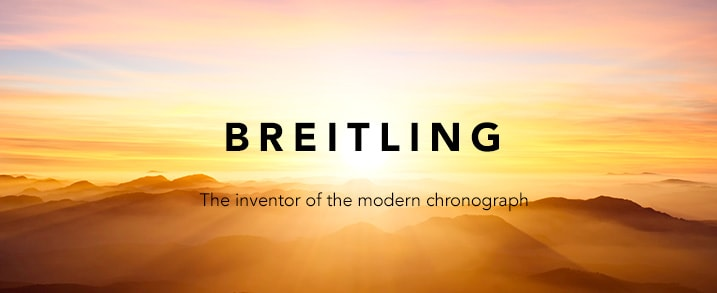 Breitling - The inventor of the modern chronograph at Evine