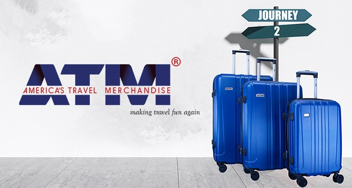 ATM Luggage - Making travel fun again at ShopHQ