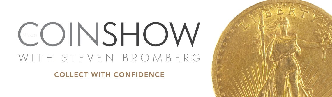 The Coin Show with Steven Bromberg at Evine