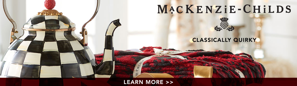 MacKenzie-Childs Classically Quirky