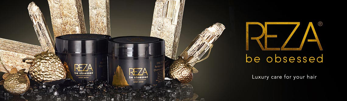 REZA Be Obsessed - Luxury care for your hair at ShopHQ - 314-560Reza Be Obsessed Haircare 3-Piece Shampoo, Conditioner & Leave-in Conditioner System