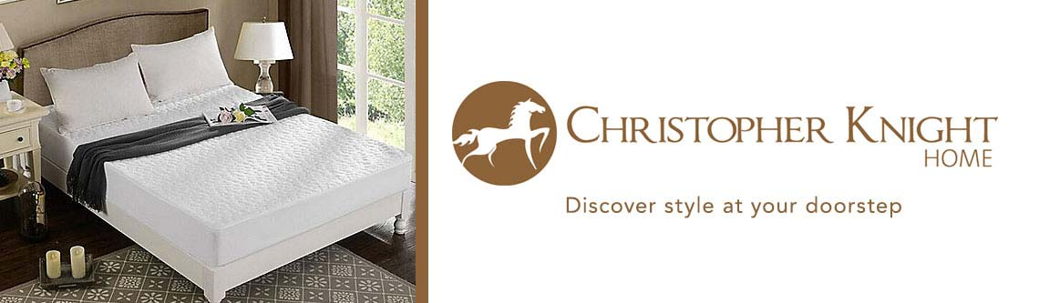 CHRISTOPHER KNIGHT at ShopHQ - 466-327 - Christopher Knight Home Tencel Pebbletex Mattress Protector
