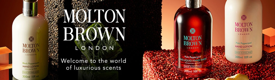 Molton Brown Welcome to the world of luxurious scents