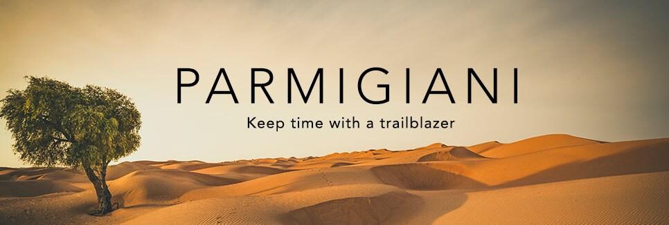 PARMIGIANI      Keep time with a trailblazer
