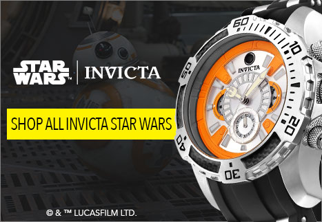 Star Wars Invicta - Invicta Star Wars Men's 50mm Bolt Limited Edition Automatic Stainless Steel Bracelet Watch - 652-857