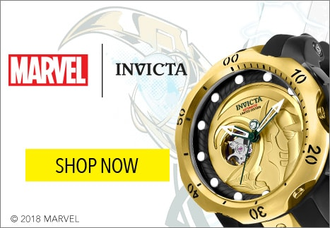 Marvel Invicta - Shop limited edition Invicta including Marvel Characters