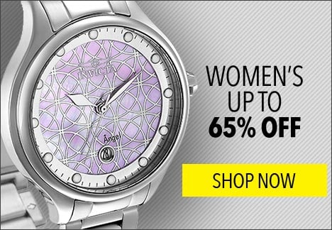 Women's Up to 65% OFF - 657-640 Invicta Women's Angel Quartz Mother-of-Pearl Stainless Steel Bracelet Watch