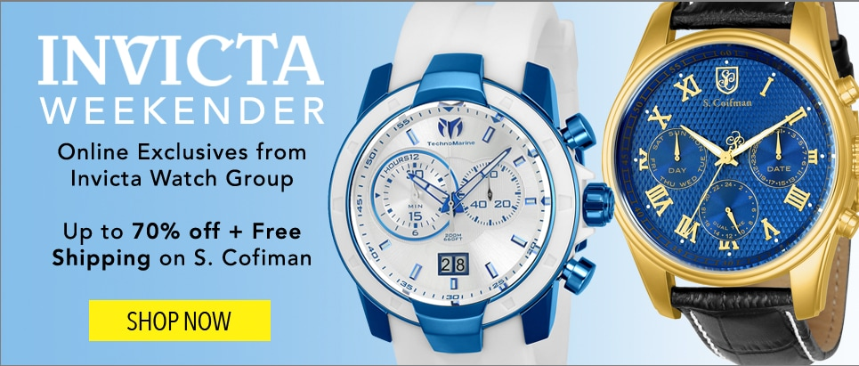 Invicta Weekender at Evine - 650-579, 652-417