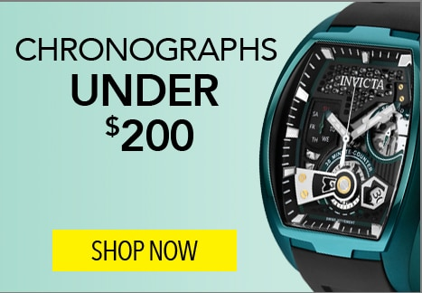 Chronographs Under $200 at Evine - 650-546