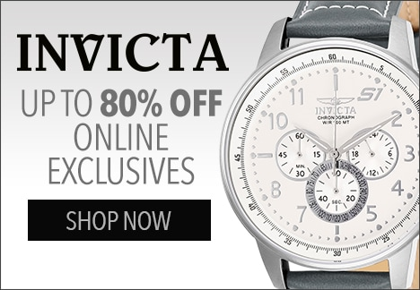 Invicta Up to 80% OFF online exclusives  at Evine - 653-037