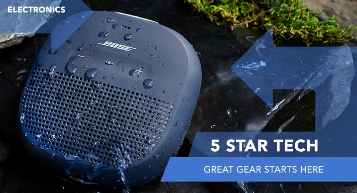 5 Star Electonics at Evine - Bose SoundLink Micro Waterproof Portable Bluetooth Speaker - 472-420