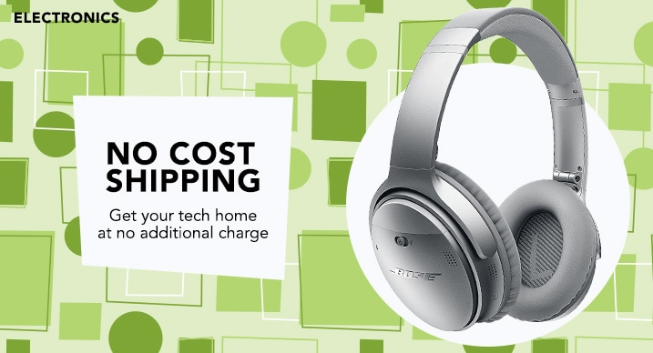 No cost shipping at Evine - 472-422 - Bose QuietComfort 35 II Noise Cancelling Bluetooth Wireless Headphones