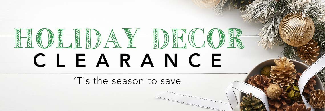 HOLIDAY DÉCOR CLEARANCE at Evine