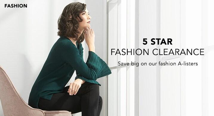 5 Star Fashion Clearance at Evine - 734-988
