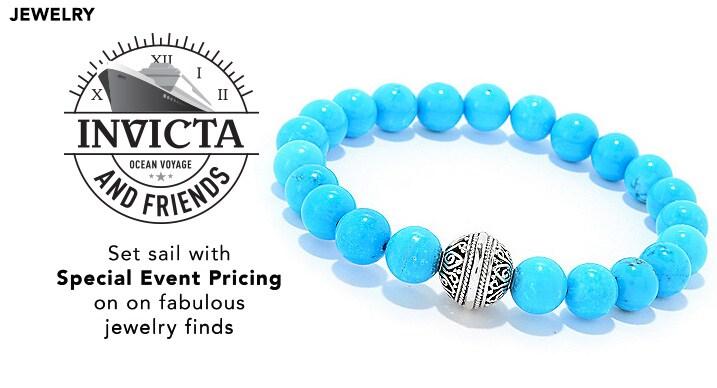 Invicta & Jewelry Ocean Voyage at Evine