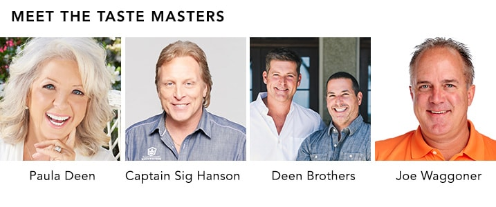 MEET THE TASTE MASTERS at Evine