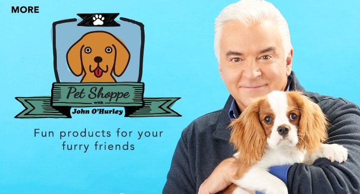 Pet Shoppe with John O'Hurley at Evine