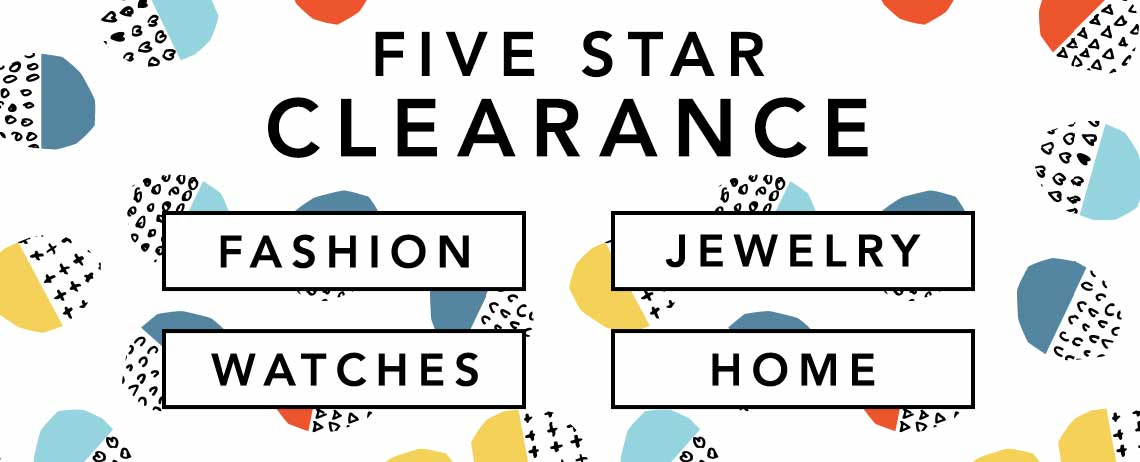 5 STAR CLEARANCE at Evine
