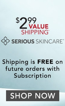 $2.99 SHIPPING SERIOUS SKINCARE at Evine