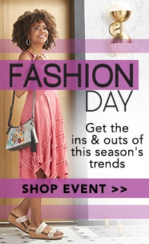 Fashion Day at Evine - OSO Casuals® Stretch Knit Sleeveless Ruffle Detailed 4-Point Hem Dress - 736-134
